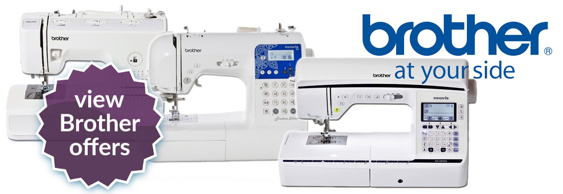 Brother Sewing Machine Offers