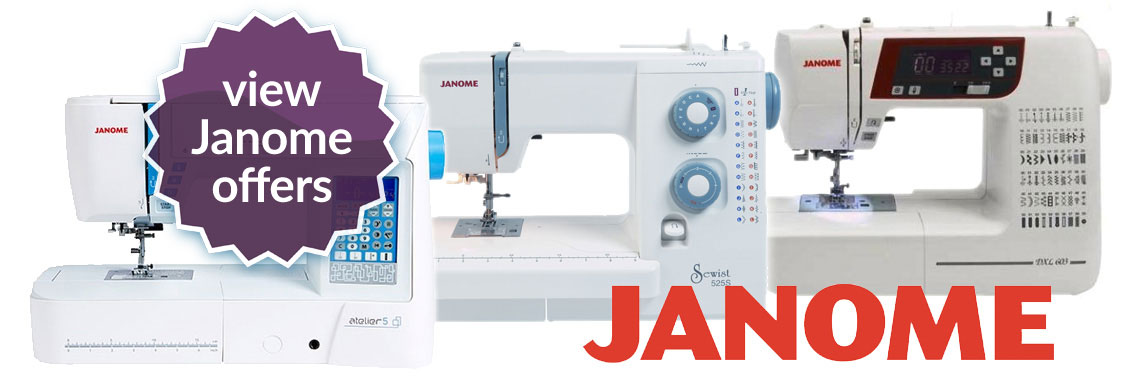 Janome Sewing Machine Offers