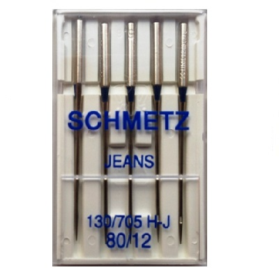 Schmetz Domestic Needles - Jeans (pack 5 - 1 size)