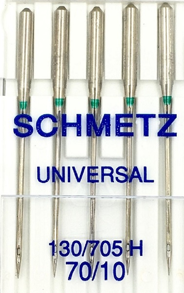 Schmetz Domestic Needles 130/705H - Universal (pack 5 - 1 size)
