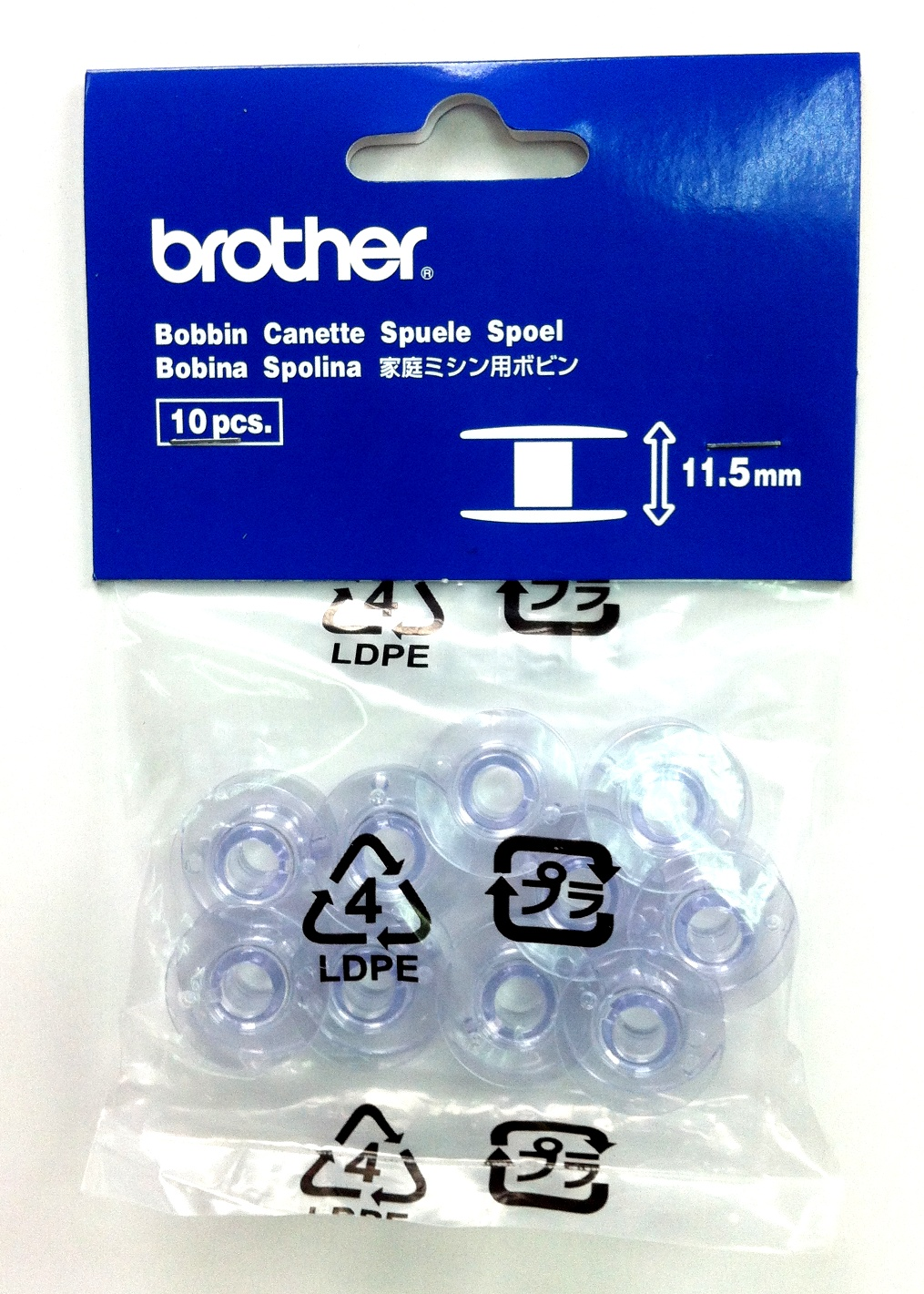 Brother Domestic Bobbins 11.5mm (SFB)